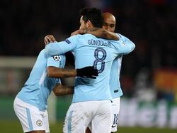 Ilkay Gündogan präsentiert sich bei Manchester City in Top-Form