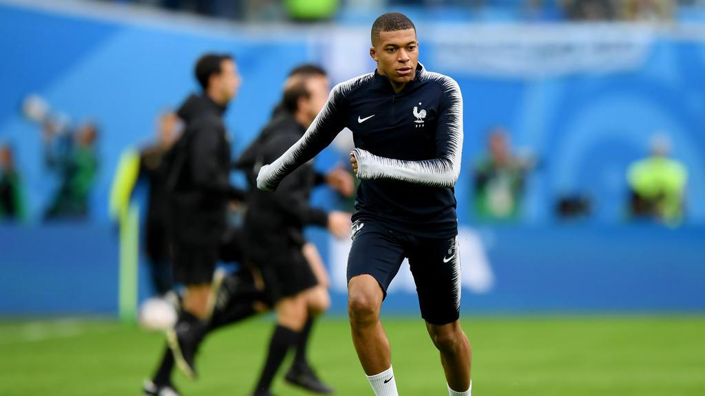 Frankreich setzt auf den jungen Superstar Kylian Mbappé