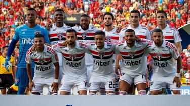 Once titular de Sao Paulo contra el  Sport de Recife. (Foto: Imago)