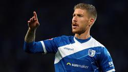 Der 1. FC Magdeburg bejubelt den Sieg
