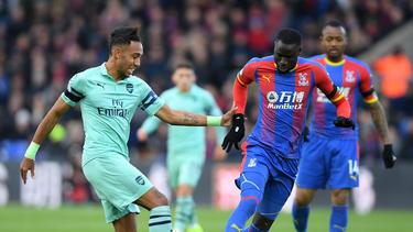 Aubameyang marcó pero no pudo evitar el empate. (Foto: Getty)