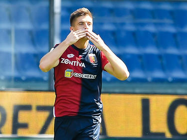 Krzysztof Piątek hat bisher in jedem seiner Serie-A-Spiele getroffen. © Getty Images/Paolo Rattini