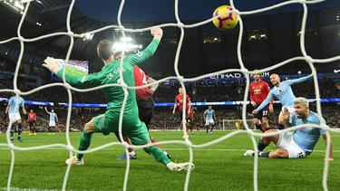 David Silva erzielte das 1:0 für Manchester City