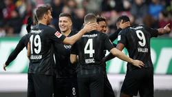 Der Höhenflug von Eintracht Frankfurt hält weiter an