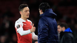 Mesut Özil feierte ein gelungenes Comeback