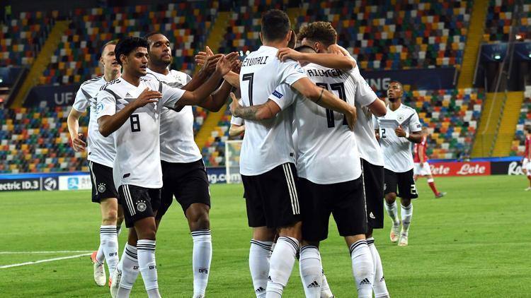 Verdienter Erfolg für die deutsche U21
