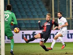 El único gol del partido lo consiguió en el minuto 37 el serbio Danko Lazovic. (Foto: Getty)