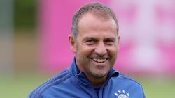 Hansi Flick ist zurück beim FC Bayern