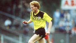 Matthias Sammer spielte bis zur Wende bei Dynamo Dresden