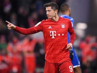 Robert Lewandowski erzielte zwei der vier Bayern-Treffer gegen Hoffenheim