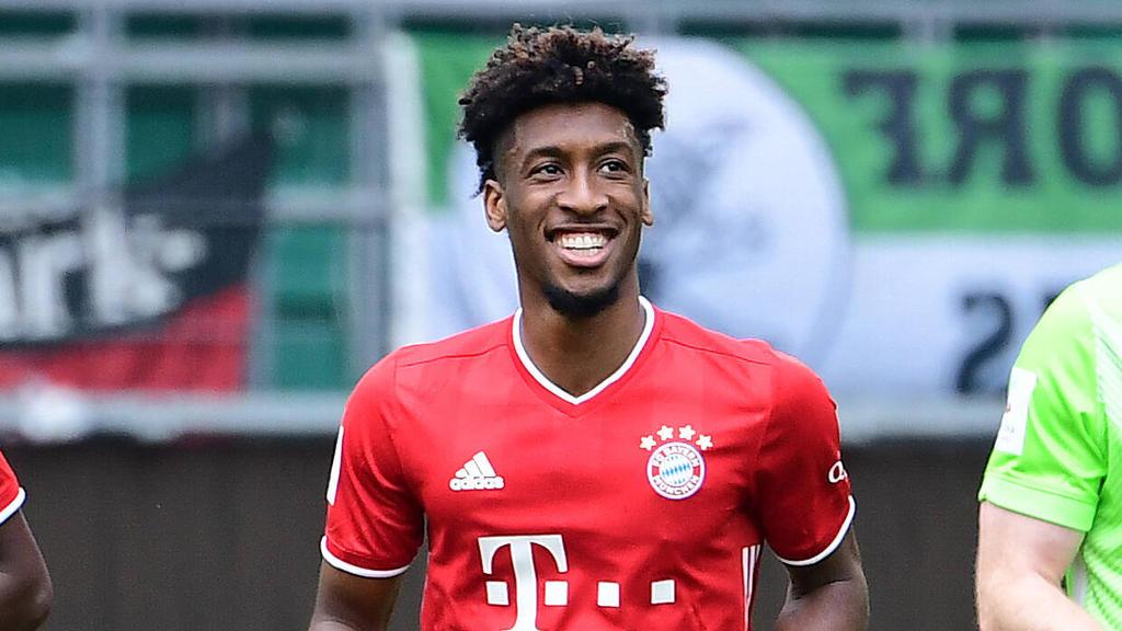 Kingsley Coman sieht seine Zukunft angeblich beim FC Bayern