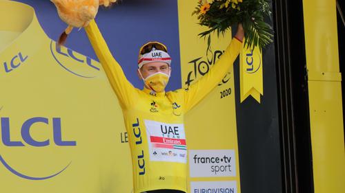 Tadej Pogacar eroberte das Gelbe Trikot bei der Tour de France