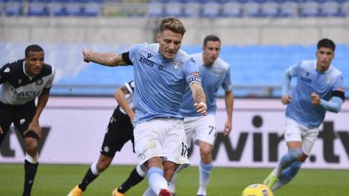 Mehr als das Elfmetertor von Ciro Immobile gelang Lazio nicht