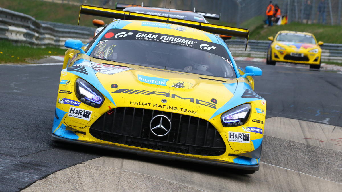 Das Haupt Racing Team testete das neue Auto auf dem Lausitzring