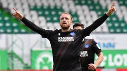 Philipp Hofmann sieht seine Zukunft nicht beim HSV