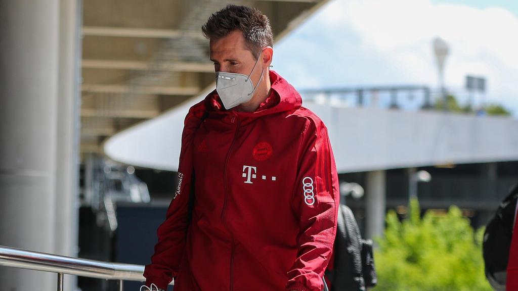 Miroslav Klose scheidet beim FC Bayern Ende Juni aus