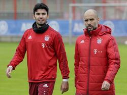 Werden keine Freunde mehr: Serdar Tasci (l.) und Coach Pep Guardiola