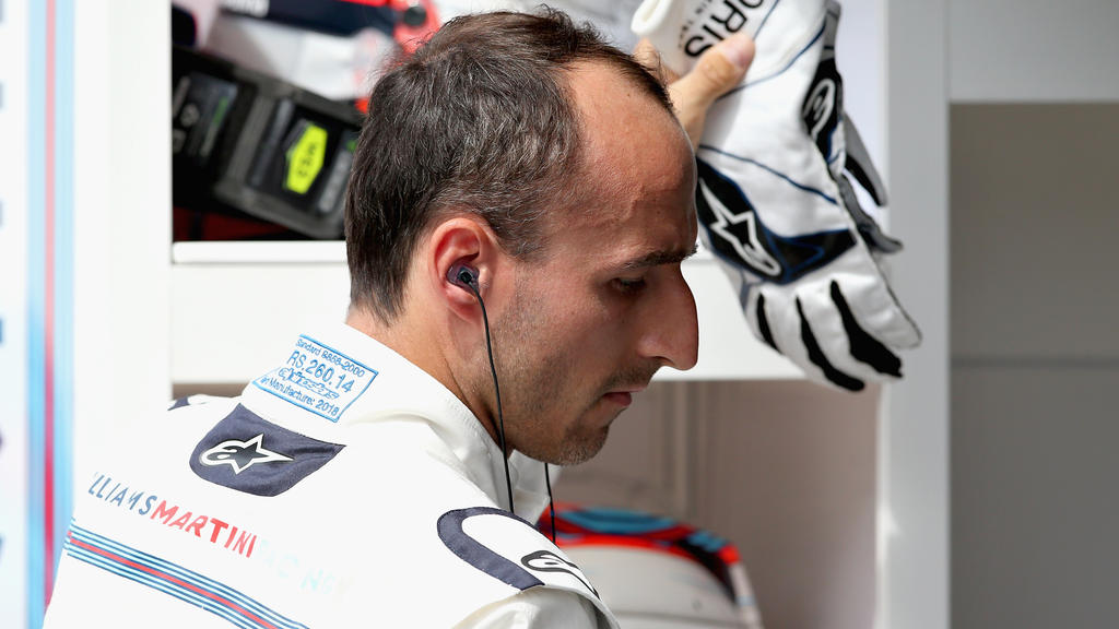 Realität 2018: Robert Kubica ist Ersatzfahrer im Williams-Team