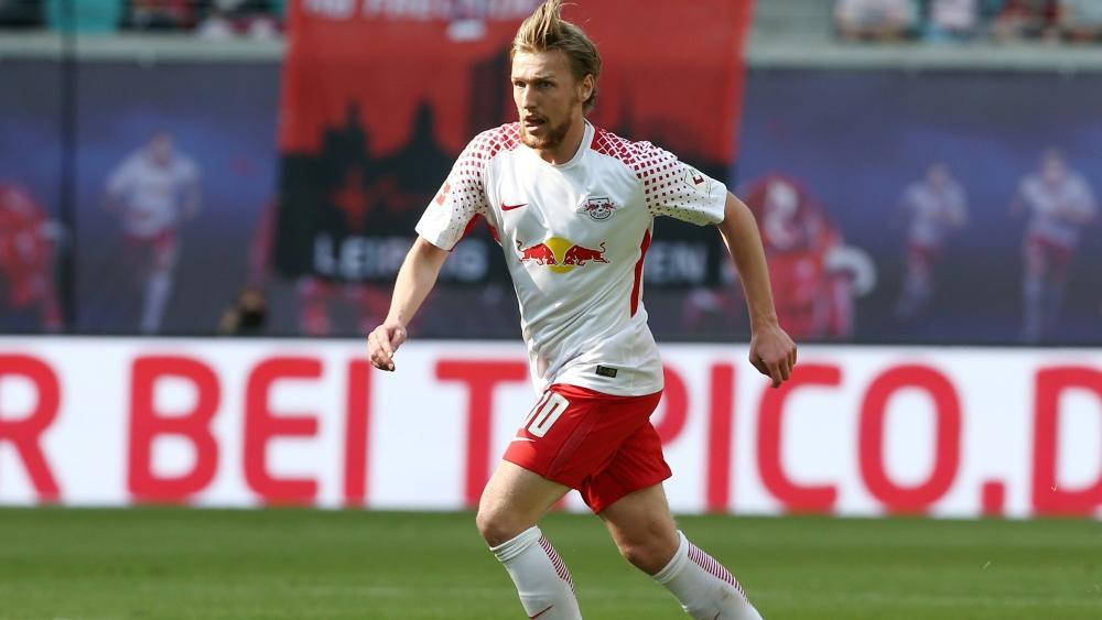Emil Forsberg spielt auch diese Saison für RB Leipzig
