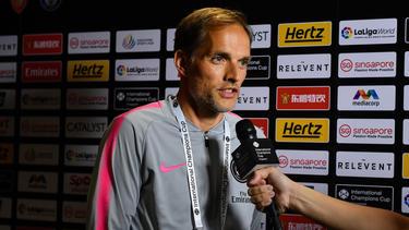 Hatte Grund zur Freude: PSG-Coach Thomas Tuchel