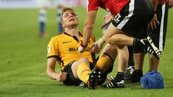 Kapitän Marco Hartmann hat sich im ersten Saisonspiel verletzt