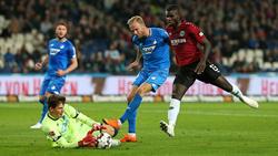 Hoffenheim holte drei Punkte in Hannover