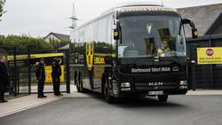 Der Dortmunder Bus-Sponsor hat eine unglückliche Promo-Aktion zu verantworten