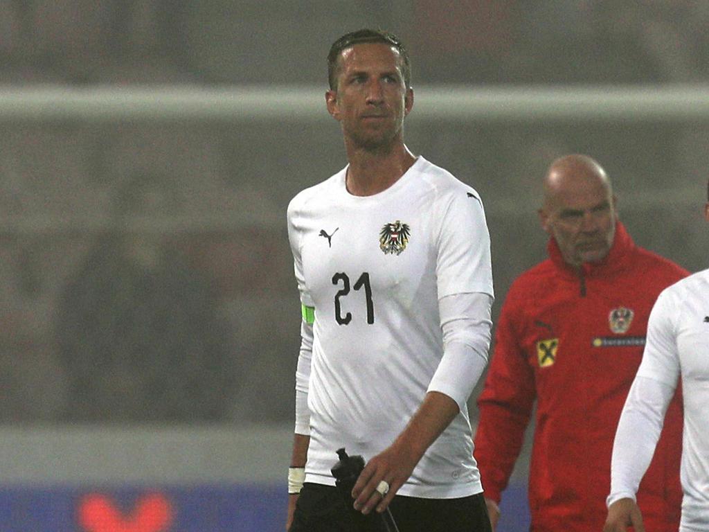 Marc Janko nach dem Dänemark-Testspiel in Herning. Sein letzter Auftritt mit dem Nationalteam?