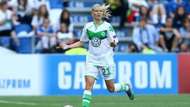 Lara Dickenmann wird dem VfL Wolfsburg rund sechs Monate fehlen