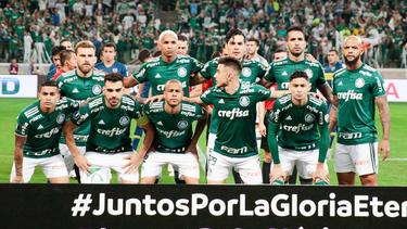 El Palmeiras está siendo el conjunto más regular del Brasileirao. (Foto: Getty)