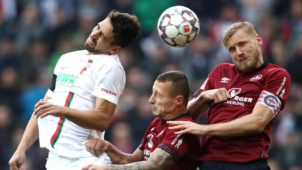 FC Augsburg und 1. FC Nürnberg teilen die Punkte
