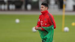 James Rodríguez fehlt dem FC Bayern wochenlang