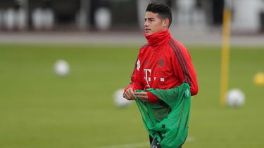 Um James Rodríguez vom FC Bayern ranken sich viele Gerüchte