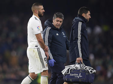 Karim Benzema brach sich gegen Betis einen Finger