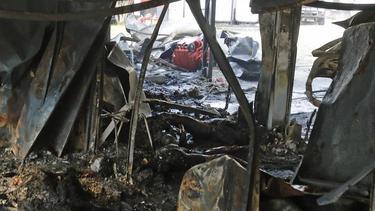 Bei dem Brand im Trainingszentrum von Flamengo sind mindestens zehn Menschen ums Leben gekommen