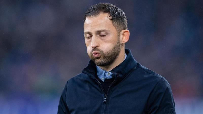 Domenico Tedesco steht beim FC Schalke 04 vor dem Aus