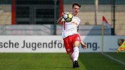 Junioren-Nationalspieler Frederik Jäkel erhält bei RB einen Profivertrag