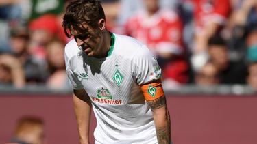 Verletzte sich beim Gastspiel von Werder Bremen beim FC Bayern: Max Kruse