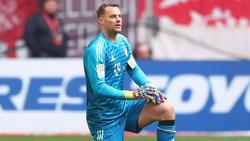 Manuel Neuer ist beim FC Bayern wieder ins Training eingestiegen