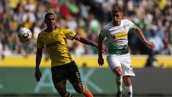 Thorgan Hazard (r.) spielt in der kommenden Saison beim BVB