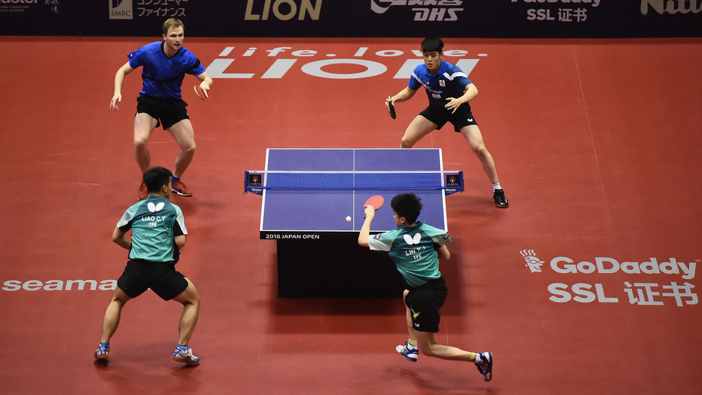 Duda/Qiu greifen in der World Tour nach Gold