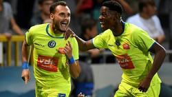 Birger Verstraete (l.) verstärkt den 1. FC Köln