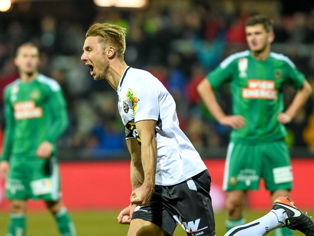 Altach besiegt Rapid mit 3:1 und ist sensationell Bundesliga-Winterkönig!