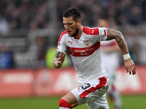 Daniel Ginczek gelang für den VfB Stuttgart ein Doppelpack