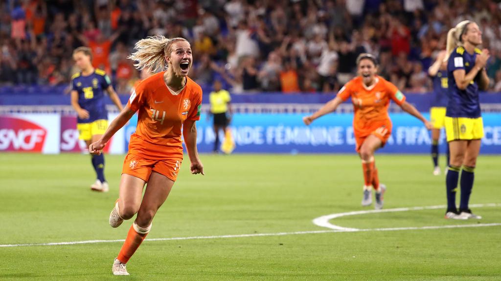 Pure Freude bei den Niederländerinnen