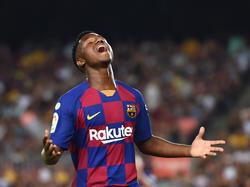 Ansu Fati ist der jüngste Barcelona-Debütant seit den 1940er-Jahren