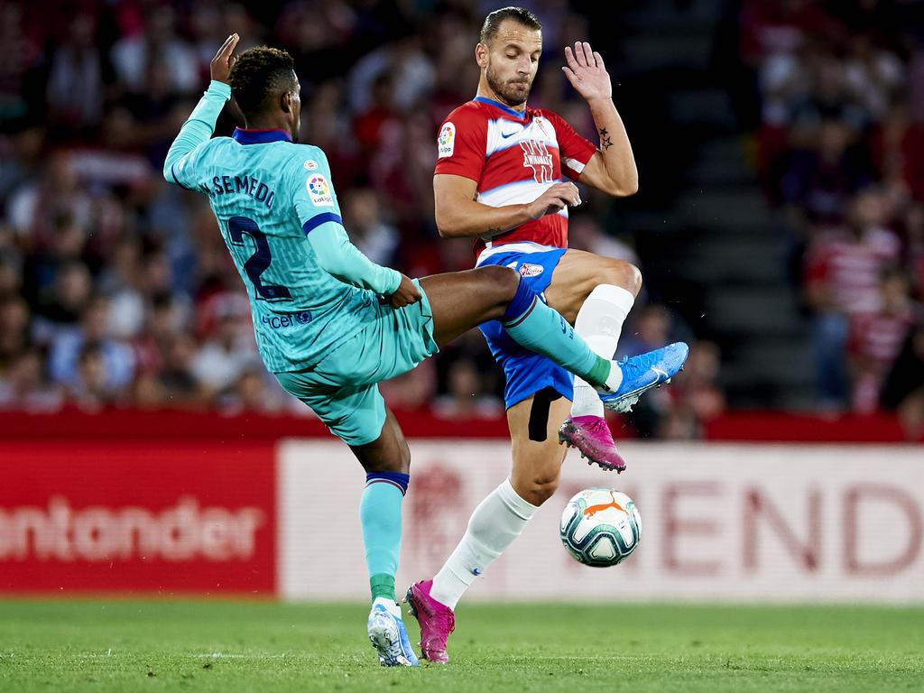 Roberto Soldado (rechts) ist Granadas bekanntester Spieler. Er traf bislang nur am ersten Spieltag