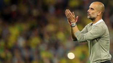 Pep Guardiola war begeistert von seinem Team