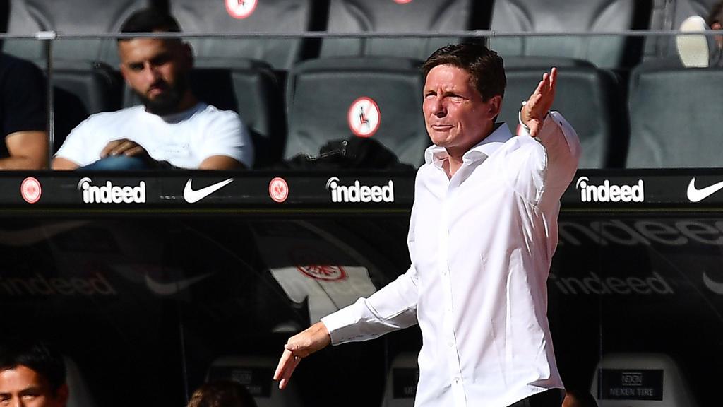 Oliver Glasner will mit Eintracht Frankfurt aus der Krise