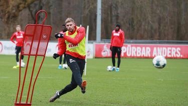 Der 1. FC Köln verleiht Lasse Sobiech